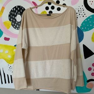 UO Out from Under Oversized Striped Tunic